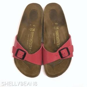 BIRKENSTOCK MADRID 1 Band Sandals HOT PINK 36 5 N